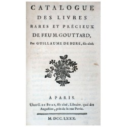 (AUCTION CATALOGUES - GOUTTARD & LORRY).