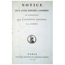 CAMUS, (ARMAND GASTON).