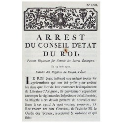 (CENSURE) (PARLIAMENTARY PAPERS).