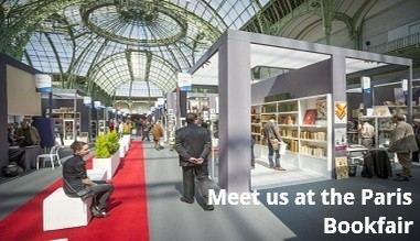 Meet us at the Paris Bookfair
